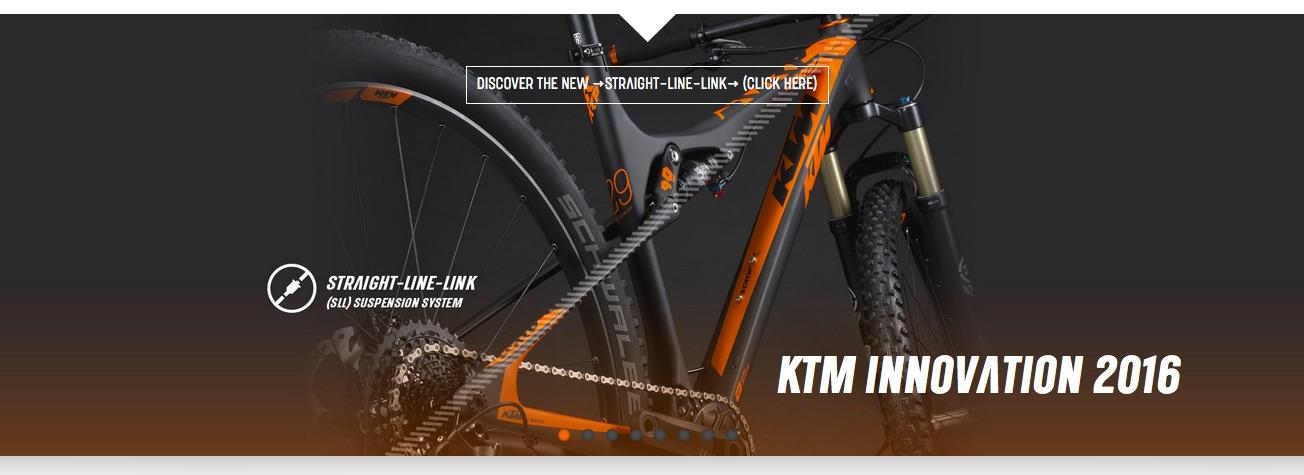 Straight Line Link - KTM Innovation